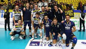 İstanbul Büyükşehir Belediyespor: 1 - Fenerbahçe HDI Sigorta: 3