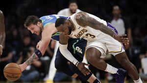 NBAde gecenin sonuçları | Mavericks, Lakersın 10 maçlık galibiyet serisine son verdi