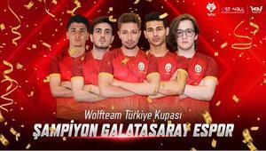 2019 Wolfteam Türkiye Kupası Şampiyonu Galatasaray Espor
