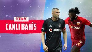 Beşiktaş, Kayserisporu konuk ediyor Rakipte 7 eksik, iddaada galibiyetine...