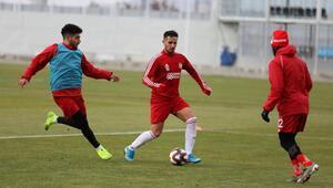 Süper Ligin lideri Sivasspor, kupa maçına hazır