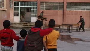 Rasulayndaki okullarda terörün izleri siliniyor