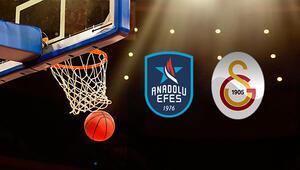 Anadolu Efes Galatasaray Doğa Sigorta maçı ne zaman saat kaçta hangi kanalda