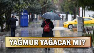 Yarın hava nasıl olacak Salı günü yağmur yağacak mı
