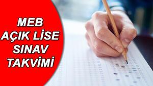 AÖL sınav giriş belgeleri ne zaman yayınlanacak Açık lise sınavları ne zaman