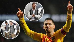 Barcelonalı futbolcular alay konusu oldu İlginç kıyafetler...