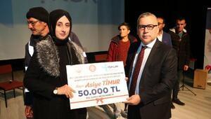 Niğde'de İŞKUR'dan 10 engelliye hibe desteği