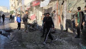 Tel Rıfatta yuvalanan YPG/PKKlı teröristler Azezdeki sivillere saldırdı