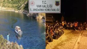 Vanda 41 kaçak göçmen yakalandı, 14 organizatör gözaltına alındı