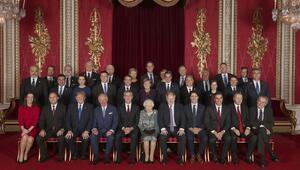 Cumhurbaşkanı Erdoğan, Kraliçenin resepsiyonuna katıldı
