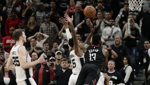 NBAde gecenin sonuçları | Hardenın 50 sayısı Houstona yetmedi