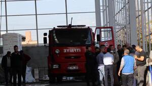 Halı fabrikasında yangın; 13 işçi dumandan etkilendi