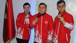 Down sendromlu sporcuların dünya şampiyonluğu gururu