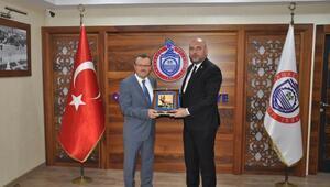 Orhangazi Belediye Başkanı Aydın ile BUÜ Rektörü Prof. Dr. Kılavuz bir araya geldi
