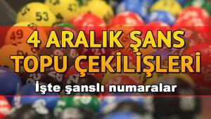 MPİ 4 Aralık Şans Topu çekiliş sonuçları ve sorgulama | Şans Topunda büyük ikramiye sahibini buldu