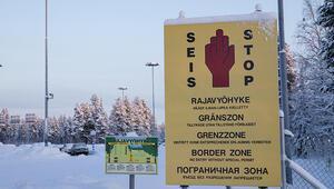 İnsan kaçakçısı sahte Rusya - Finlandiya sınır kapısı kurdu
