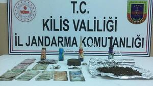 Kilis'te uyuşturucu operasyonu; 3 gözaltı