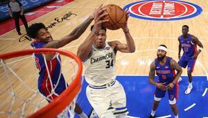 NBAde gecenin sonuçları | Milwakuee Bucks hız kesmiyor