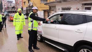 Hatay'da 4 bin 139 araç sürücüsüne para cezası