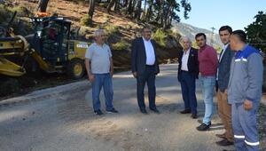 Büyükşehir kırsalda yol çalışmalarını sürdürüyor