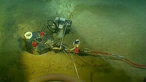 İşte trol ile avlanan balıkçıların kopardığı optik kablolar...