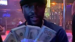 Floyd Mayweather gece kulübünde dansçılara 100 bin dolar dağıttı