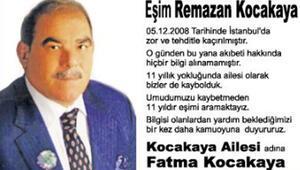 11 yıldır aranıyor... Esrarengiz gazete ilanının ayrıntıları belli oldu
