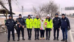 Milli sporcu trafik polisi oldu