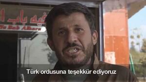 MSB Twitterdan paylaştı Türk askeri sayesinde kurtulduk