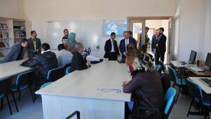 Akşehir Belediye Başkanı, Engelsiz Yaşam Merkezini ziyaret etti