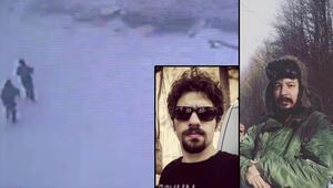 Uludağ'da kayıp iki dağcının son görüntüleri ortaya çıktı