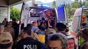 Teröristlerin araziye tuzakladığı mayın infilak etti: 4 asker yaralı