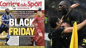 Skandal manşete savunma Corriere dello Sport...