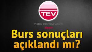 TEV burs sonuçları ne zaman açıklanacak 2019-2020 burs sonuçları açıklandı mı