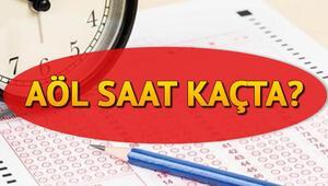 Açık öğretim lise sınavları saat kaçta başlayacak AÖL sınav yeri sorgulama