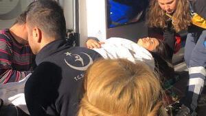 Demirtaşı ziyarete cezaevine giden ailesi kaza geçirdi