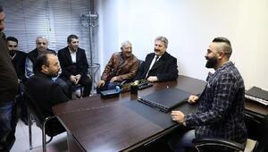 Başkan Palancıoğlundan esnafa ziyaret