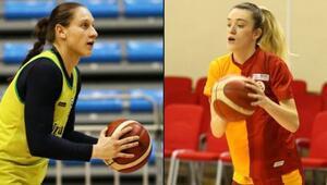 Kadınlar Basketbol Süper Liginde derbi heyecanı