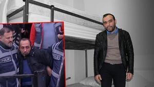 Ceren Özdemiri öldüren cani hapishaneden firar edip otelde böyle kalmış.. Polisi aramadım, korktum