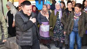 Beyoğludan kadın pazarcılara ziyaret