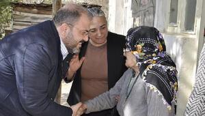 AK Parti Tuncelide bin 718 haneyi ziyaret etti