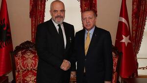 Erdoğan, Arnavutluk Başbakanı Ramayı kabul etti
