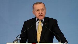 Cumhurbaşkanı Erdoğan: Kuruluş prosedürünü tamamladık