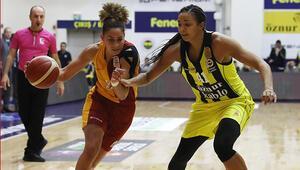 Kadınlar Basketbol derbisinde Fenerbahçe, Galatasarayı mağlup etti
