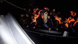 Çanakkalede 33 kaçak göçmen yakalandı