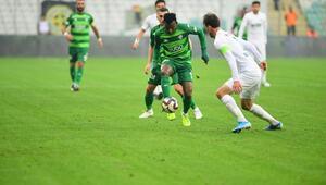 Bursaspor, bu sezon evinde ilk kez kaybetti