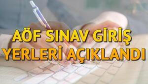 Anadolu Üniversitesi AÖF sınav yerleri sorgulama nasıl yapılır AÖF öğrenci otomasyon sayfası