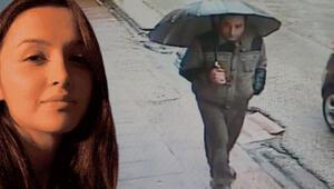 Ceren Özdemirin katil zanlısının yakalanmadan önceki görüntüleri ortaya çıktı