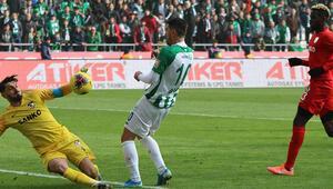 Gaziantepspor ilk defa kalesini gole kapadı