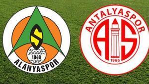 Süper Lig'de Akdeniz derbisi Alanyaspor ile Antalyaspor...